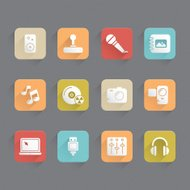 Linned Icons - Multimedia