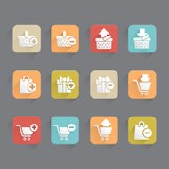 Linned Icons - Shopping