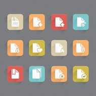 Linned Icons - Documents