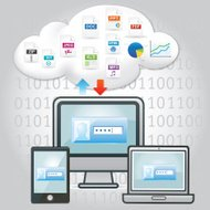 cloud computing and file sharing with multi devices
