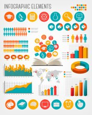 Education infographics. Vector.