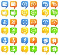 Icon Set - Support Call Out for Business Activity