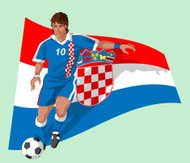 Croatia soccer player