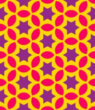 Vector seamless abstract geometric pattern