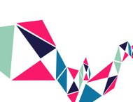 abstract colorful geometry shape background