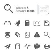 Website & browser related icon