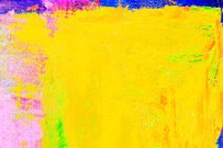 Abstract painted purple and yellow art backgrounds.