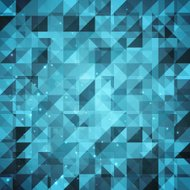 Abstract sparkling geometric background