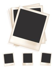 Three Vintage picture Frames