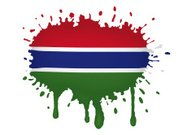 Gambia flag sketches