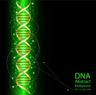 dna abstract green colour background