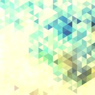 abstract blue rhombus pattern background