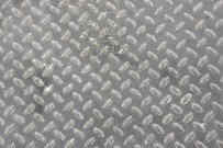 Diamond shape steel plate texture.