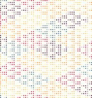 abstract color polka dots pattern background