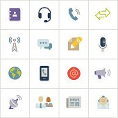 Communications Icons — Poly Series