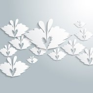 abstract gray butterfly pattern background