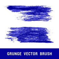 Set of grunge vector brushes