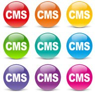 Cms colorful icons