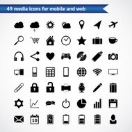 Icons for web & mobile
