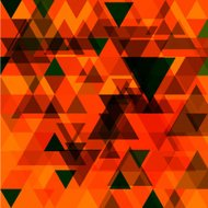 abstract vector red triangle pattern background
