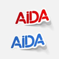 realistic design element: AIDA