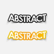realistic design element: abstract