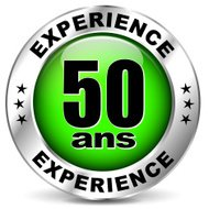 fifty years experience icon