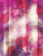 Bright pink abstract grunge background with hearts