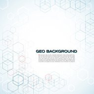 Geo Background with Copy Space