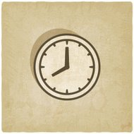 clock face old background