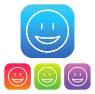 Superlight Interface Happy Face Icon
