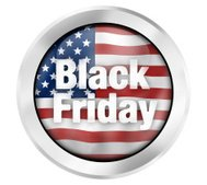 Black Friday Flag Concept Icon symbol Creative Design