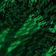 abstract green transparency pattern background