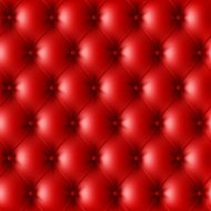 Red leather upholstery pattern