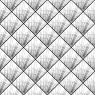 abstract black and white line pattern background