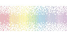 Colourful Rainbow Pixel Star Background