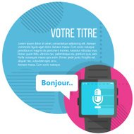French voice command in Smart Watch