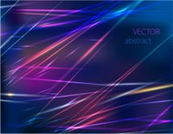 vector abstract background with colorful motion blur shining