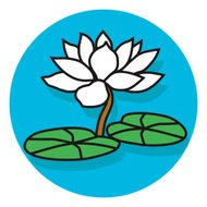 lotus blossom icon