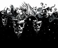 Scary Skulls In Space