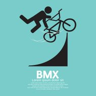 BMX Bicycle Sign