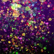 Colorful lights abstract celebration