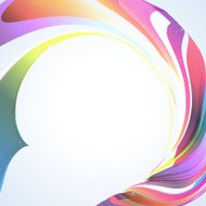 abstract colorful streamer pattern background
