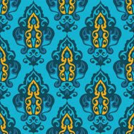 damask seamless vector floral