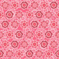 Floral seamless pattern. Vector illustration. Background.  Flora