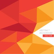Vector geometric background cover