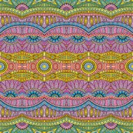 Abstract vector tribal ethnic pattern