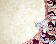 Abstract Elegant Floral