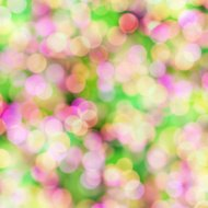 blurred pastel dots on bright background