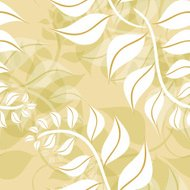Fern fronds seamless tile
